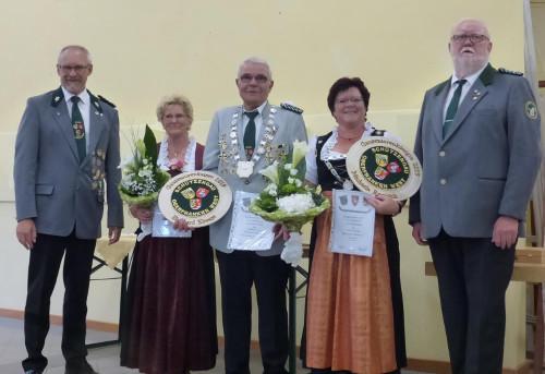 Königshaus 2019 der Seniorenschützen